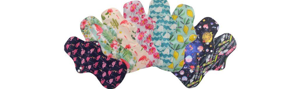 serviettes hygiéniques réutilisables